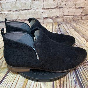 Dr Scholls Black Suede Ankle Boots Booties 11 M